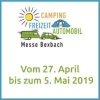 Wohnmobile Saarland auf der Camping&Freizeit Messe Bexbach 2019