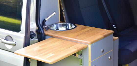 Easy Camper Innenausstattung Küche