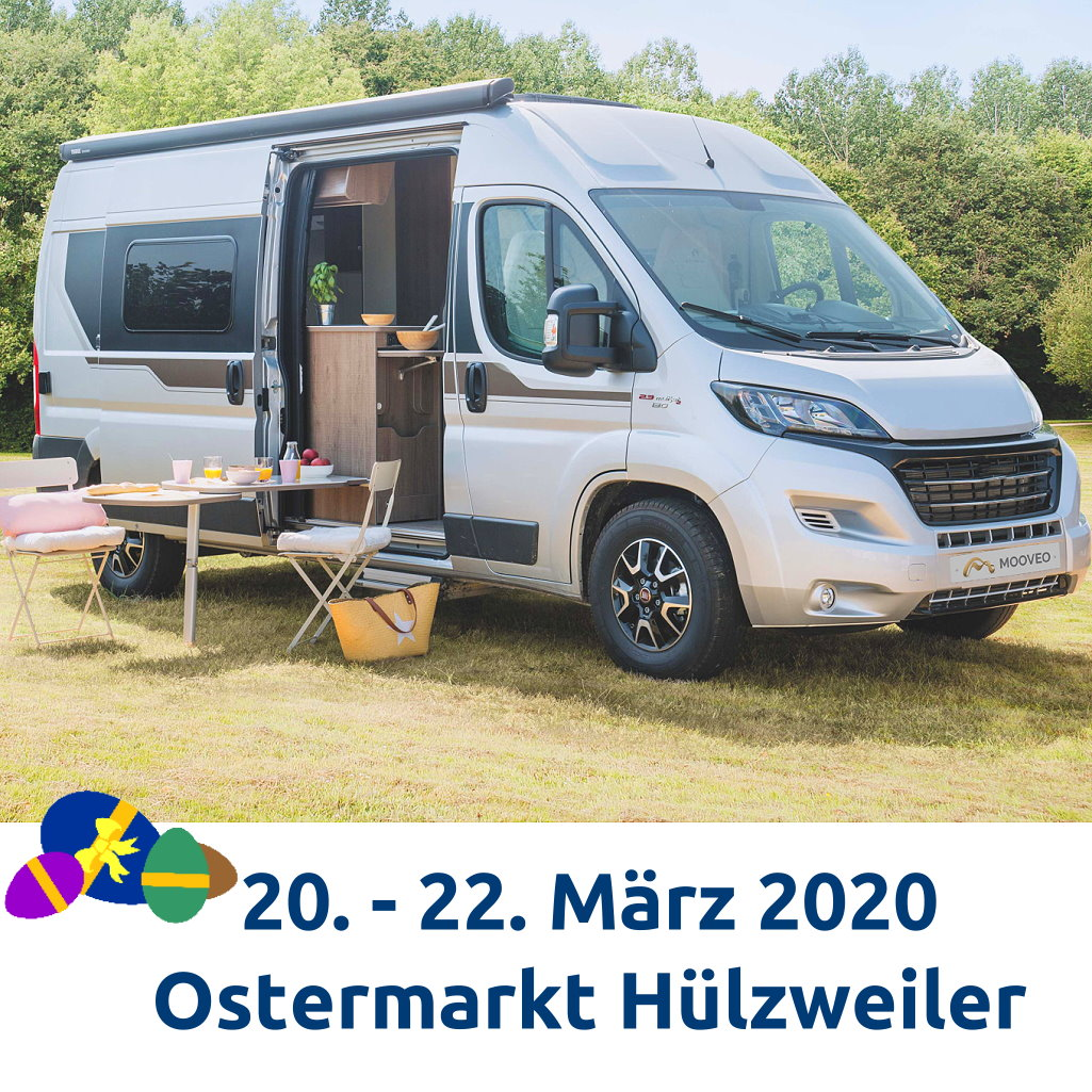 Wohnmobile Saarland auf dem Ostermarkt Hülzweiler