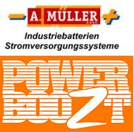 A. Müller - Industriebatterien & Stromversorgungssysteme